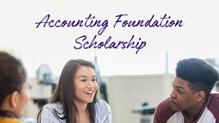 Accounting foundation scholarship