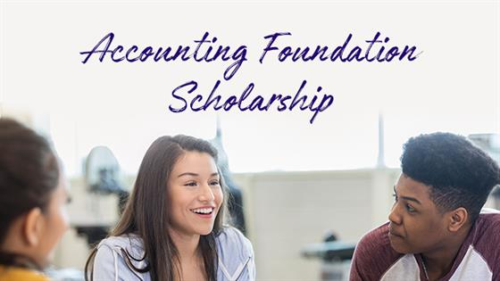 Accounting foundation scholarship