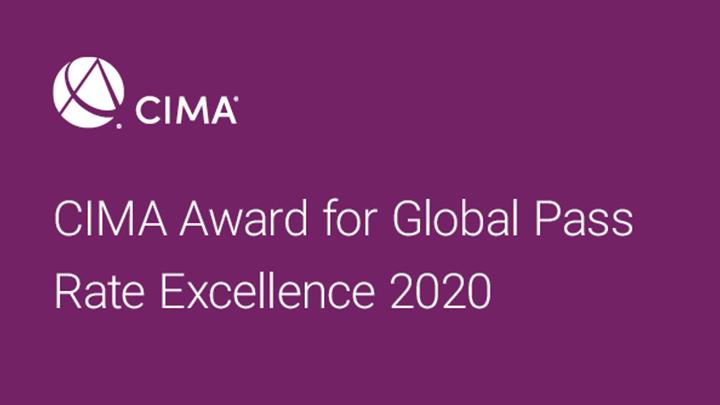 CIMA award logo