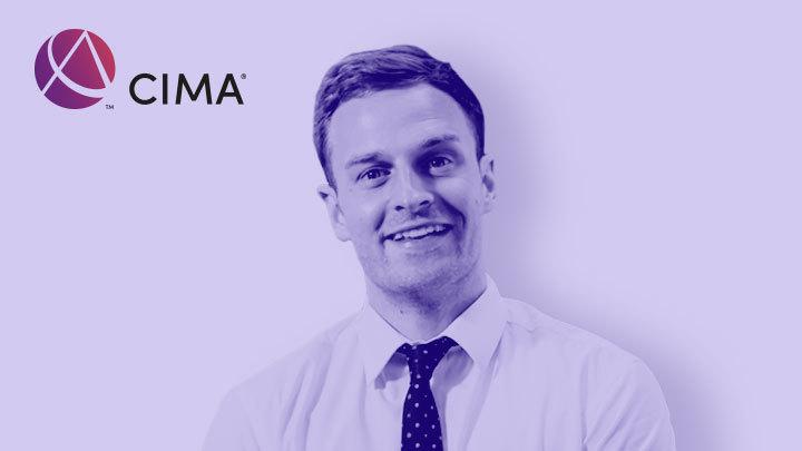 CIMA logo and Kaplan tutor Andrew Mower