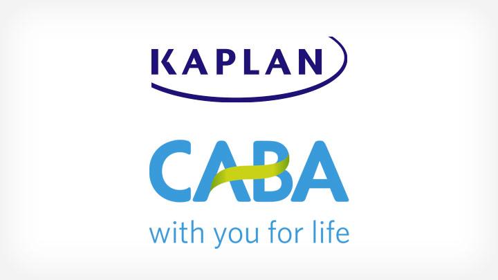Kaplan & CABA logos