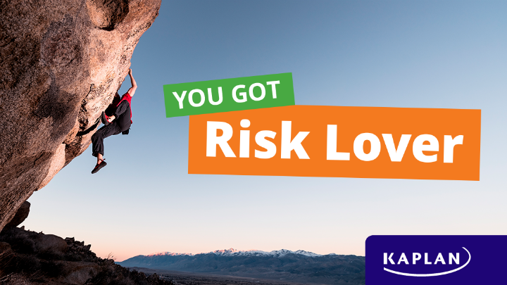 You got Risk Lover - quiz result