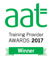 AAT training provider awards winner 2017 logo