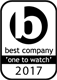 One to watch best company 2017 logo
