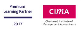CIMA Chartered Institute of Management Accountants premium learning partner 2017 logo