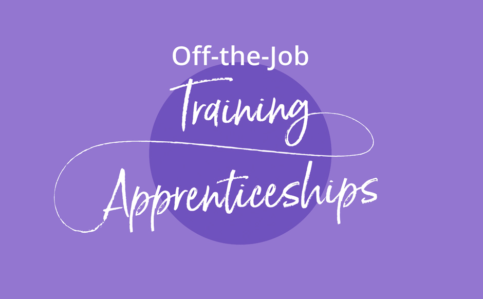 Off the job training apprenticeships video graphic