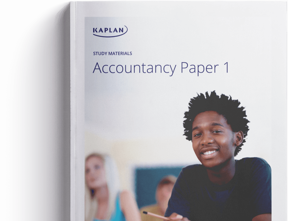 Kaplan Publishing study materials book cover