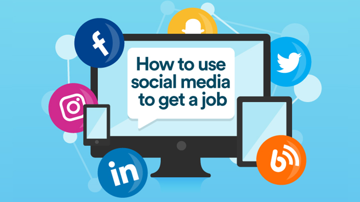 How to use social media to get a job